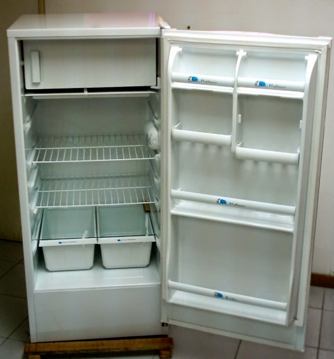 If you go on vacation, unplug the fridge