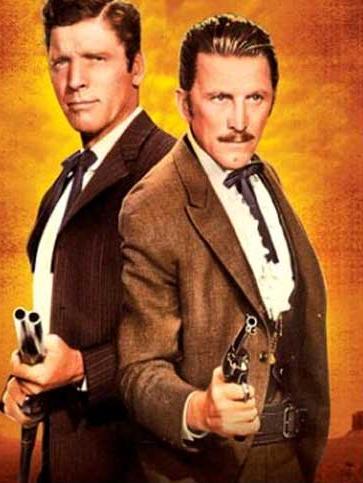 Kirk Douglas e Burt Lancaster