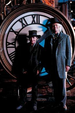 Michael J. Fox e Christopher Lloyd