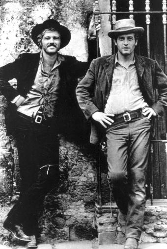 Robert Redford und Paul Newman
