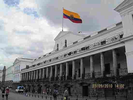 ECUADOR PRESIDENTIAL PALACE
