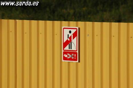 Если вы пописаете на забор, они его обрежут? Go!