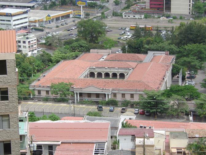 HONDURAS PRESIDENTIAL HOUSE