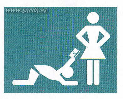 Mandatory to give the visa to the woman and make obeisances?
