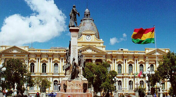 PRESIDENTIAL PALACE OF BOLIVIA
