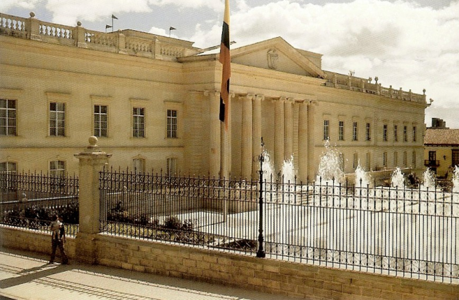 PRESIDENTIAL PALACE OF COLOMBIA