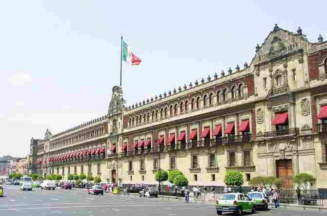 PRESIDENTIAL PALACE OF MEXICO