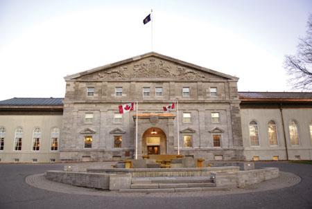 RIDEAU HALL IN CANADA