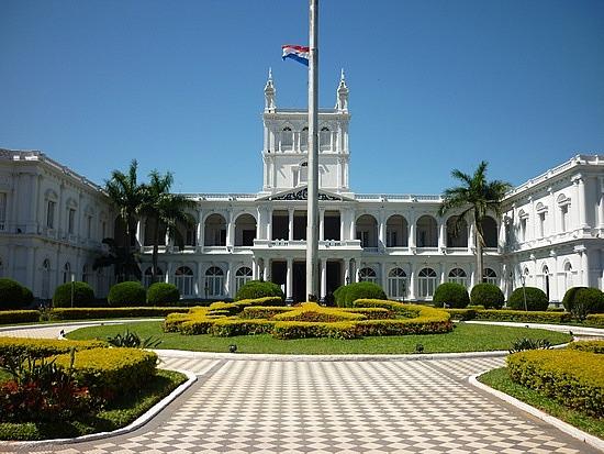 THE PALACE OF LOS LOPEZ DE PARAGUAY