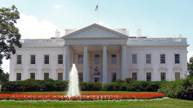 THE WHITE HOUSE IN THE UNITED STATES