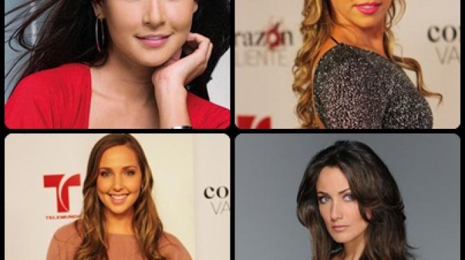 Die besten Schauspielerinnen von Telemundo