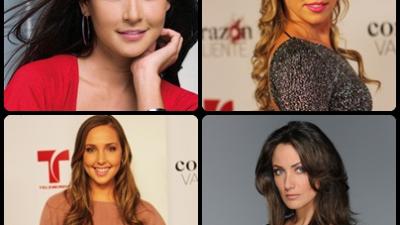 Les meilleures actrices de Telemundo