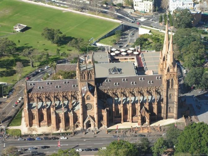 Кафедральный собор Святой Марии в Сиднее