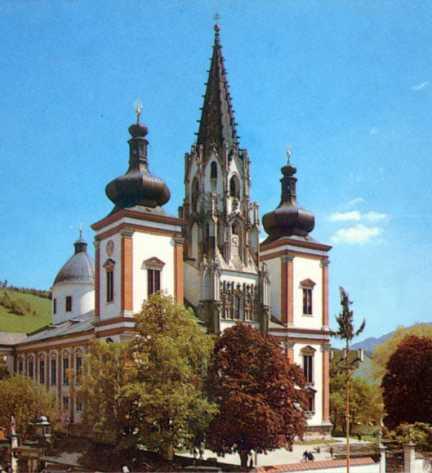 Basilique et sanctuaire de Mariazell