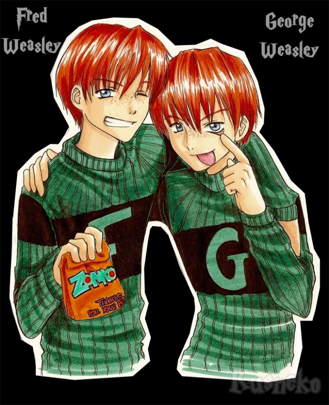 ~ Fred and George ~