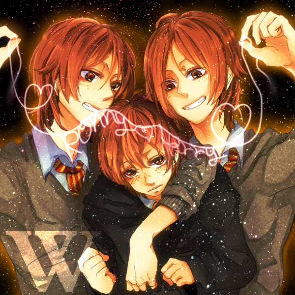 ~ Fred, Ron and George ~