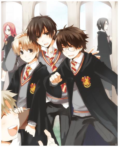 ~ Remus, Sirius, James and Wormtail ~