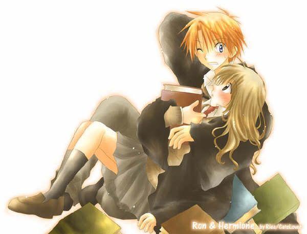 ~ Ron and Hermione ~
