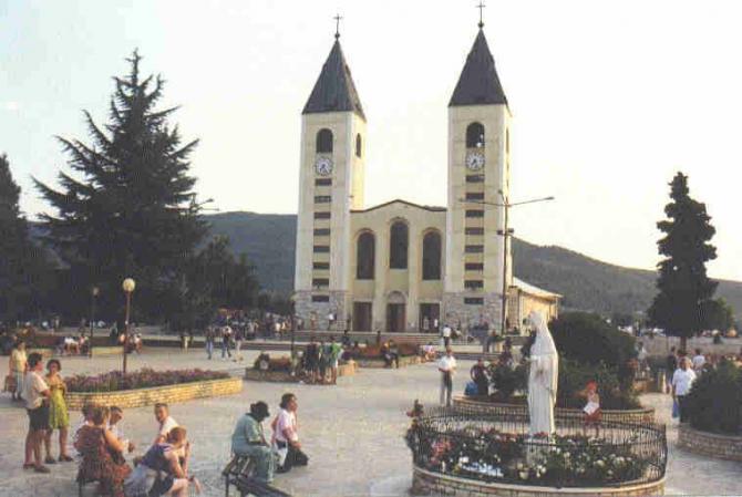 Sanctuaire de Medjugorje