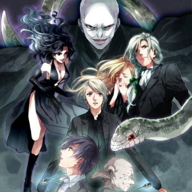 ~ Voldemort, Bellatrix, Draco, Lucius, Narcissa, Kricher and Young Riddle ~