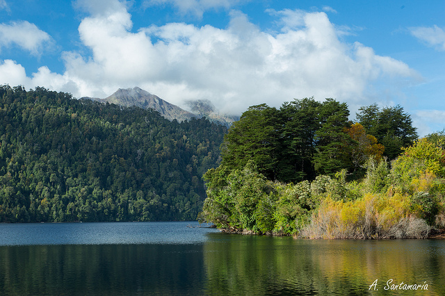 Озеро Пириуэйко (Чили)