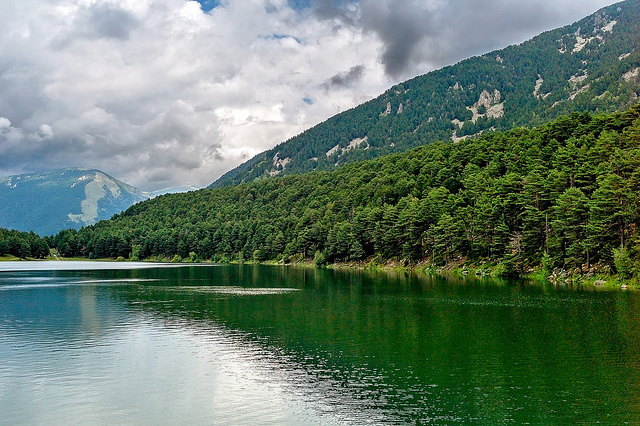 Озеро Энголастерс (Андорра)