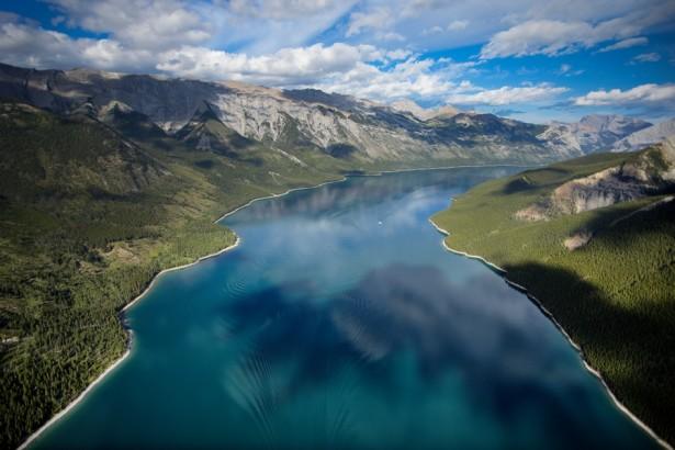 Озеро Минневанка (Канада)