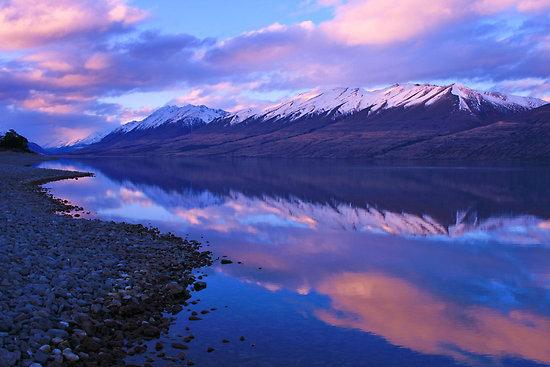 Озеро Охау (Новая Зеландия)