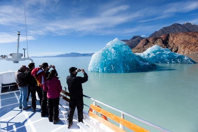 Озеро Вьедма (Аргентина)