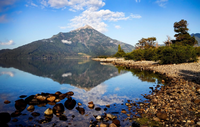 Озеро Уэчулафкун (Аргентина)