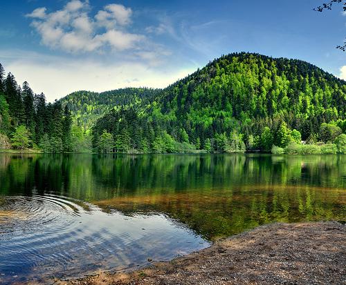Retournemer Lake (Франция)