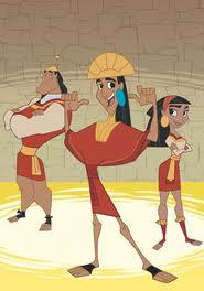 Kuzco an emperor in school