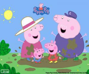 Peepa Pig Puzzle Game