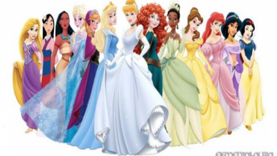 Disney Princesses: the best dress