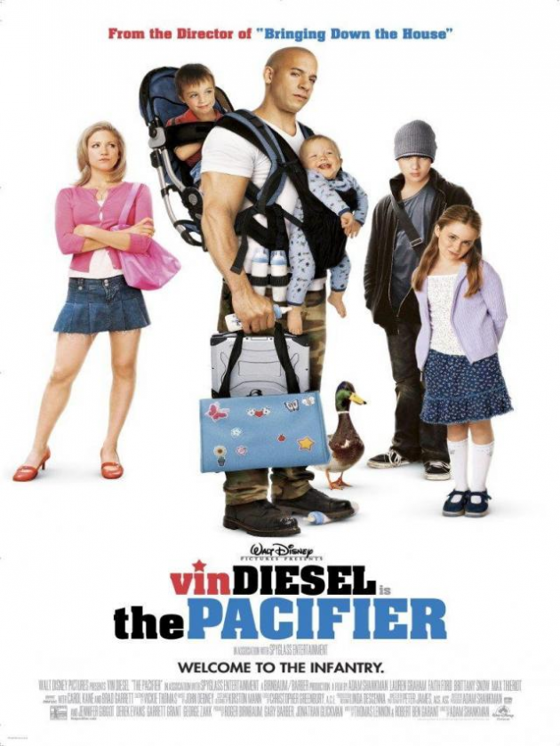 'The pacifier'