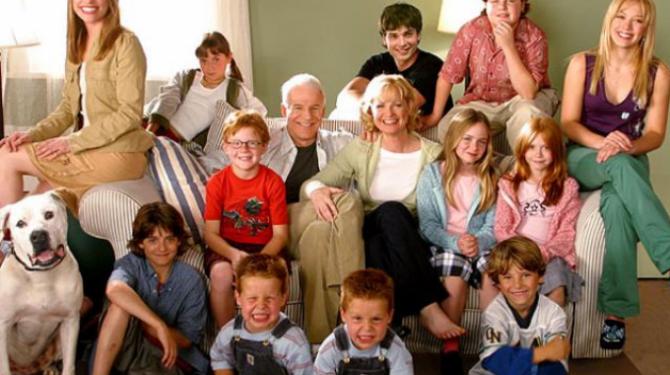 Las mejores comedias sobre familias numerosas