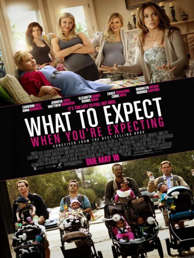 'What to expect when you're expecting'