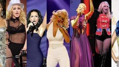 Pop Divas auf Englisch