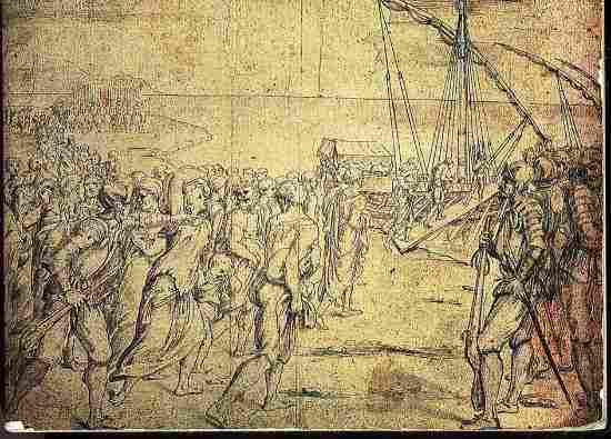 «Изгнание Морискоса» Веласкеса и более 500 картин (Incendio Real Alcázar de Madrid 1734)