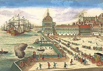 Les peintures de Rubens et Titian disparaissent avec le palais de Ribeira au Portugal