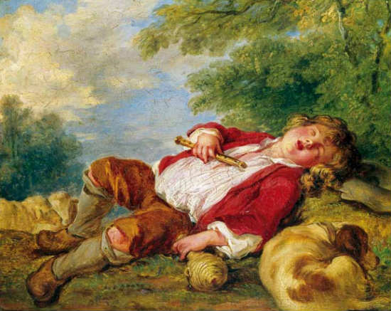 """More than 239 works destroyed, including """"The Sleeping Shepherd"""" by François Boucher"""