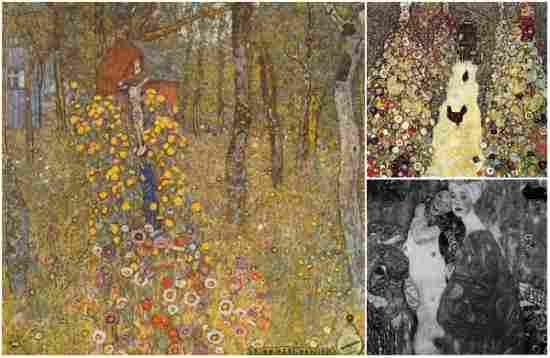 """Filosofia"" de Gustav Klimt (Incendi al Castell Immendorf)"
