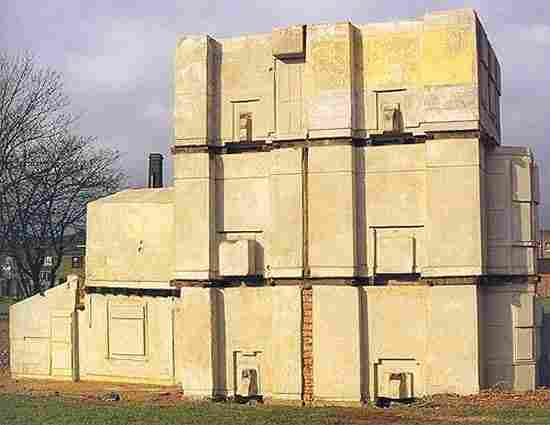 """""""House"""" by Rachel Whiteread was destroyed in 1994"""