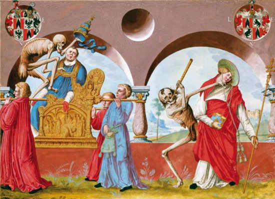 """La Dansa de la Mort"" de Niklaus Manuel Deutsch"