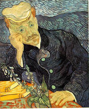 """""""Portrait of Dr. Gachet"""" by Van Gogh"""