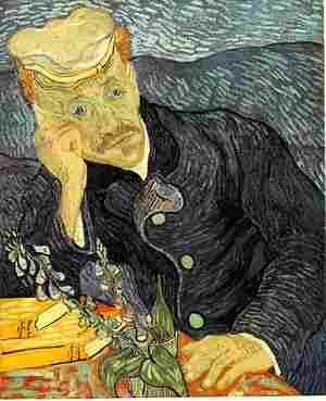 """""""Retrat del Dr. Gachet"""" de Van Gogh"""