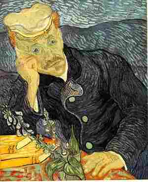 """Retrato del Dr. Gachet"" de Van Gogh"