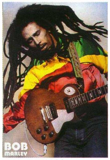 Bob Marley - Singer of The Wailers and Soloist