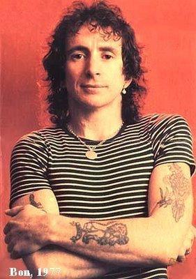 Bon Scott - AC / DC singer