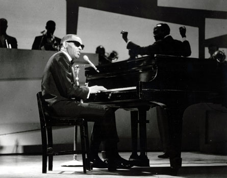 Ray Charles - Soloist and pianist